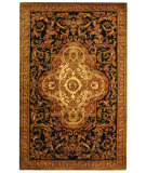 RugStudio presents Safavieh Classic CL220B Black / Beige Hand-Tufted, Best Quality Area Rug