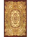 RugStudio presents Safavieh Classic CL221A Ivory / Red Hand-Tufted, Best Quality Area Rug