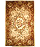 RugStudio presents Safavieh Classic CL223A Ivory / Rust Hand-Tufted, Best Quality Area Rug
