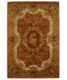 RugStudio presents Safavieh Classic CL223B Rust / Gold Hand-Tufted, Best Quality Area Rug