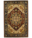 RugStudio presents Safavieh Classic CL225A Assorted / Red Hand-Tufted, Best Quality Area Rug