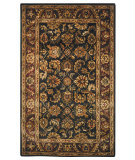 RugStudio presents Safavieh Classic CL229A Burgundy / Black Hand-Tufted, Good Quality Area Rug