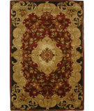 RugStudio presents Safavieh Classic CL234A Rust / Green Hand-Tufted, Best Quality Area Rug