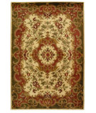 RugStudio presents Safavieh Classic CL234C Ivory / Green Hand-Tufted, Best Quality Area Rug
