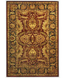 RugStudio presents Safavieh Classic CL239B Burgundy / Black Hand-Tufted, Best Quality Area Rug