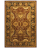 RugStudio presents Safavieh Classic CL239C Rust / Black Hand-Tufted, Best Quality Area Rug