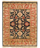 RugStudio presents Safavieh Classic CL244C Black / Burgundy Hand-Tufted, Best Quality Area Rug