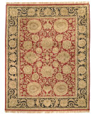 RugStudio presents Safavieh Classic CL254A Burgundy / Black Hand-Tufted, Best Quality Area Rug