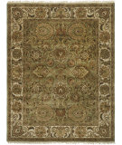 RugStudio presents Safavieh Classic CL254C Light Green / Ivory Hand-Tufted, Best Quality Area Rug