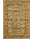 RugStudio presents Safavieh Classic CL324A Light Green / Gold Hand-Tufted, Best Quality Area Rug