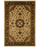 RugStudio presents Safavieh Classic CL362C Ivory / Navy Hand-Tufted, Best Quality Area Rug