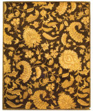 RugStudio presents Safavieh Classic CL389A Dark Brown Hand-Tufted, Best Quality Area Rug