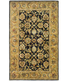 RugStudio presents Safavieh Classic CL758B Black / Gold Hand-Tufted, Best Quality Area Rug