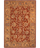 RugStudio presents Safavieh Classic CL758C Red / Gold Hand-Tufted, Best Quality Area Rug