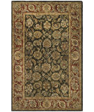RugStudio presents Safavieh Classic CL758P Dark Olive / Red Hand-Tufted, Best Quality Area Rug