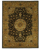 RugStudio presents Safavieh Classic CL762C Black / Gold Hand-Tufted, Best Quality Area Rug