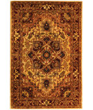 RugStudio presents Safavieh Classic CL763A Light Gold / Red Hand-Tufted, Best Quality Area Rug
