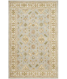 RugStudio presents Safavieh Classic Cl933a Light Blue / Ivory Hand-Tufted, Better Quality Area Rug