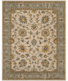 RugStudio presents Safavieh Classic Cl934b Ivory / Light Blue Hand-Tufted, Better Quality Area Rug