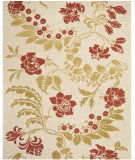 RugStudio presents Safavieh Capri CPR340A Beige / Rust Hand-Tufted, Good Quality Area Rug