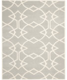 RugStudio presents Safavieh Capri CPR343A Grey / Ivory Hand-Tufted, Good Quality Area Rug