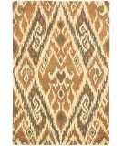 RugStudio presents Safavieh Capri Cpr351b Multi / Brown Hand-Tufted, Best Quality Area Rug