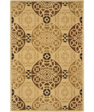 RugStudio presents Safavieh Capri Cpr353b Gold / Multi Hand-Tufted, Best Quality Area Rug
