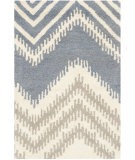 RugStudio presents Safavieh Capri Cpr445a Blue - Ivory Hand-Tufted, Best Quality Area Rug