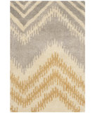 RugStudio presents Safavieh Capri Cpr445b Grey - Gold Hand-Tufted, Best Quality Area Rug