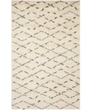 RugStudio presents Safavieh Casablanca Csb847a White / Brown Hand-Tufted, Best Quality Area Rug