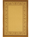 RugStudio presents Safavieh Courtyard Cy0718-3001 Natural / Brown Machine Woven, Good Quality Area Rug