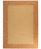 RugStudio presents Safavieh Courtyard Cy0727-3201 Natural / Terracotta Machine Woven, Good Quality Area Rug