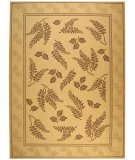 RugStudio presents Safavieh Courtyard Cy0772-3001 Natural / Brown Machine Woven, Good Quality Area Rug