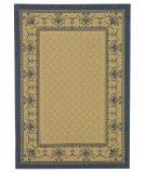 RugStudio presents Safavieh Courtyard Cy0901-3101 Natural / Blue Machine Woven, Good Quality Area Rug