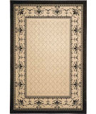 RugStudio presents Safavieh Courtyard Cy0901-3901 Sand / Black Machine Woven, Good Quality Area Rug