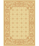 RugStudio presents Safavieh Courtyard Cy1356-3201 Natural / Terracotta Machine Woven, Good Quality Area Rug