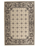 RugStudio presents Safavieh Courtyard Cy1356-3901 Sand / Black Machine Woven, Good Quality Area Rug