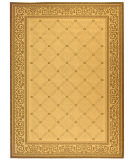RugStudio presents Safavieh Courtyard Cy1502-3001 Natural / Brown Machine Woven, Good Quality Area Rug