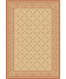 RugStudio presents Safavieh Courtyard Cy1502-3201 Natural / Terracotta Machine Woven, Good Quality Area Rug