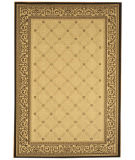 RugStudio presents Safavieh Courtyard Cy1502-3901 Sand / Black Machine Woven, Good Quality Area Rug