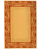 RugStudio presents Safavieh Courtyard Cy1551-3201 Natural / Terracotta Machine Woven, Good Quality Area Rug