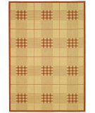 RugStudio presents Safavieh Courtyard Cy1587-3201 Natural / Terracotta Machine Woven, Good Quality Area Rug