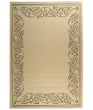 RugStudio presents Safavieh Courtyard Cy1677-3901 Sand / Black Machine Woven, Good Quality Area Rug