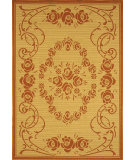 RugStudio presents Safavieh Courtyard Cy1893-3201 Natural / Terracotta Machine Woven, Good Quality Area Rug