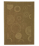 RugStudio presents Safavieh Courtyard Cy1906-3009 Brown / Natural Machine Woven, Good Quality Area Rug