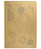 RugStudio presents Safavieh Courtyard Cy1906-3101 Natural / Blue Machine Woven, Good Quality Area Rug