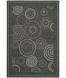 RugStudio presents Safavieh Courtyard Cy1906-3908 Black / Sand Machine Woven, Good Quality Area Rug