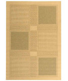 RugStudio presents Safavieh Courtyard Cy1928-1e01 Natural / Olive Machine Woven, Good Quality Area Rug