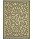 RugStudio presents Safavieh Courtyard Cy2098-1e06 Olive / Natural Machine Woven, Good Quality Area Rug