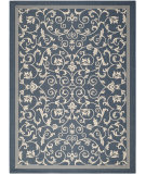 RugStudio presents Safavieh Courtyard Cy2098-268 Navy / Beige Machine Woven, Good Quality Area Rug